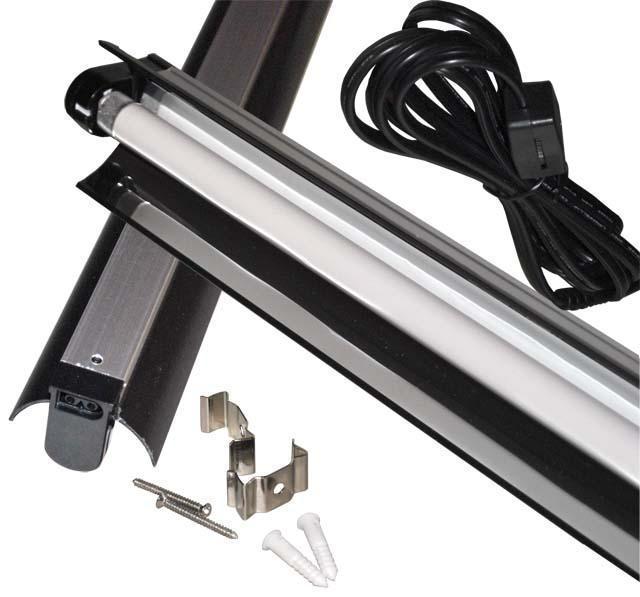48 Light Fixture: T5 Single Bulb Light Strip